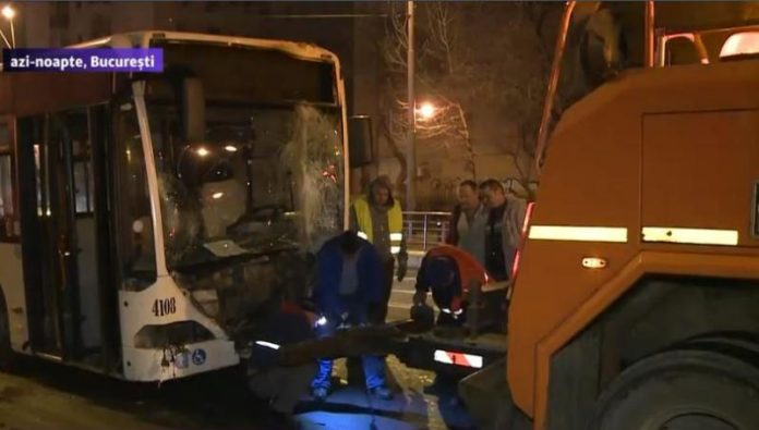 accident autobuz ratb bucuresti Sectorul 4 News