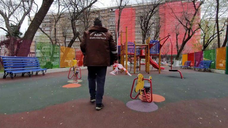 VIDEO- Parcurile și locurile de joacă din sectorul 4, s-au închis în perioada stării de urgență